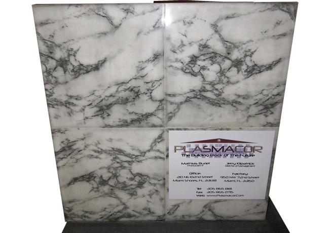 Plasmacor - Fiberglass Composite Plant Material Wall Panel
